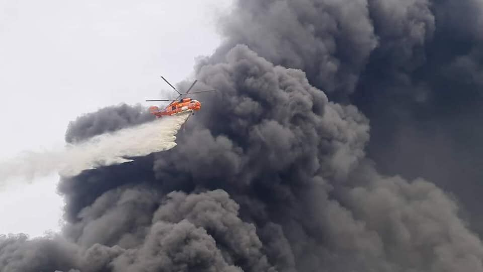 More than 80,000 people affected by chemical factory fire in Samut Prakan   News by Thaiger