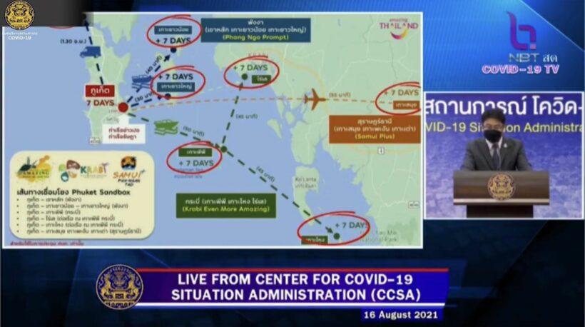 "CCSA approves ""7+7"" island hop extension to ""Phuket Sandbox"" | News by Thaiger"