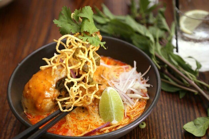 Thai noodle dishes