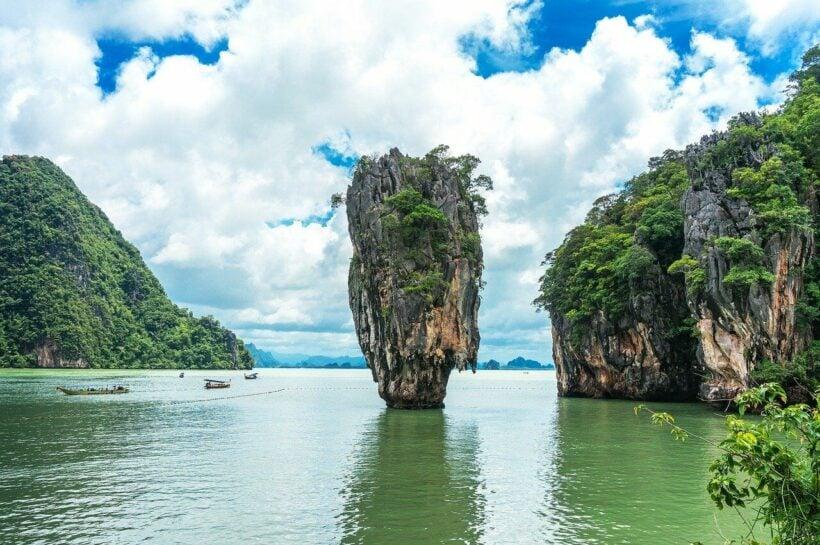 Phang Nga Bay. Photo via eltonmaxim/pixabay