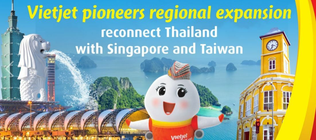 Thai Vietjet to resume flights to Singapore and Taiwan starting October | News by Thaiger