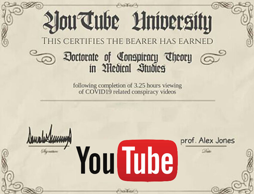 YouTube pulled 1 million Covid-19 misinformation videos | News by Thaiger
