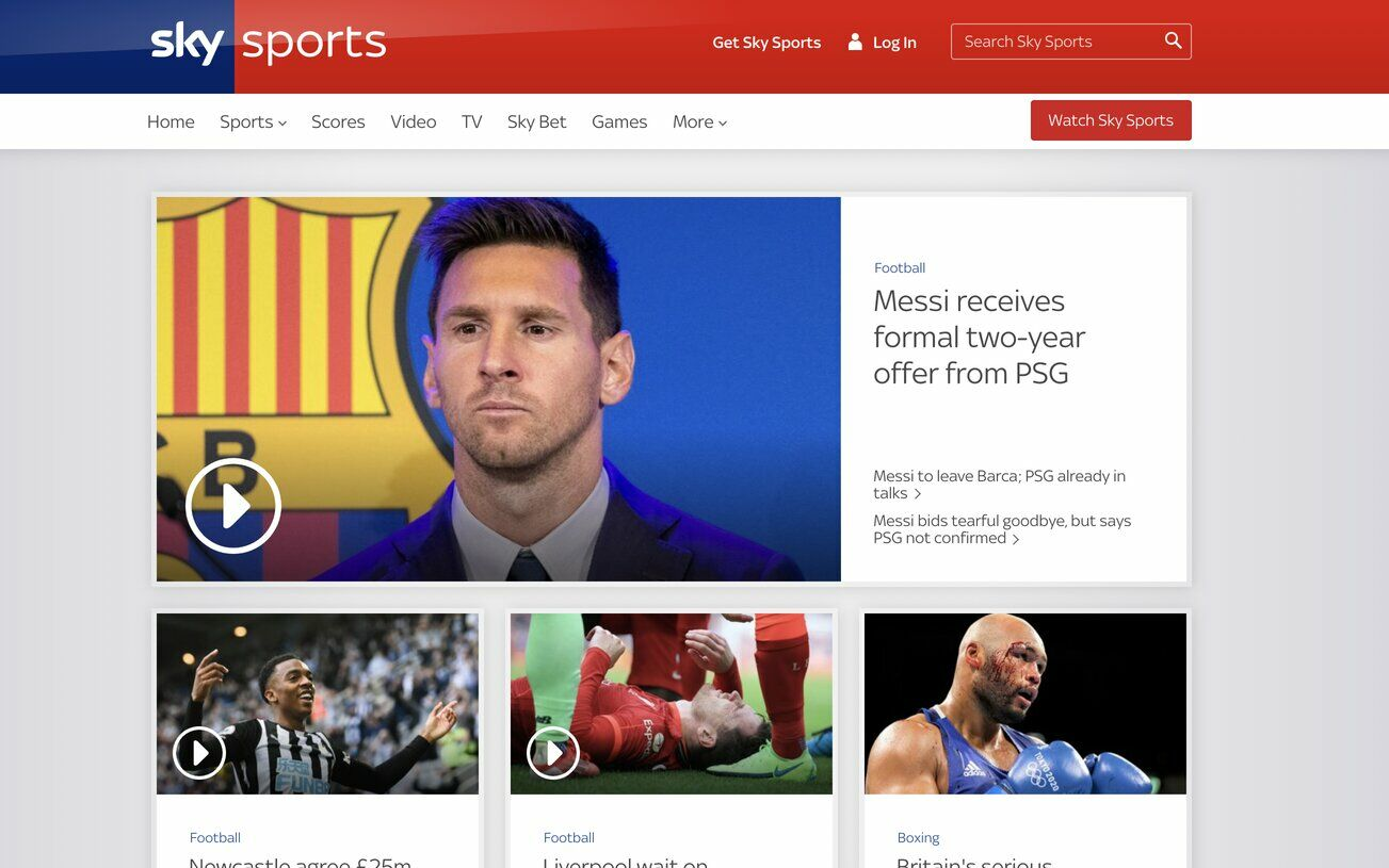 Top places to stream live football | News by Thaiger