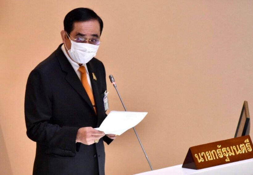 PM Prayut Chan-o-cha says lifting the nightly curfew is under consideration