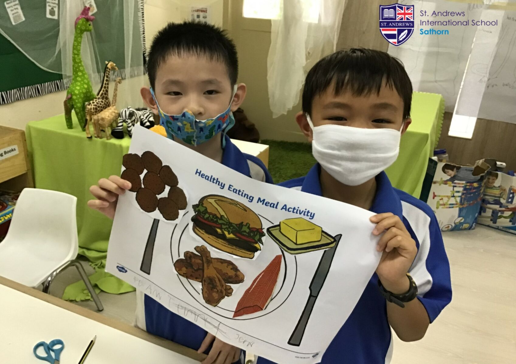 St. Andrews International School, joins global event for children's wellbeing | News by Thaiger