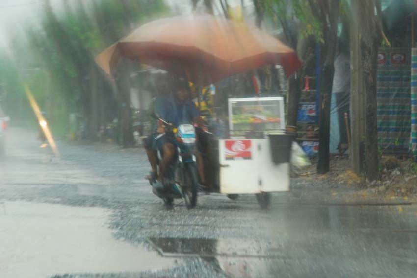 Weather Warning Issued As Tropical Storm Dianmu Approaches
