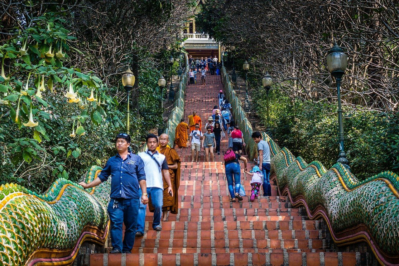 PHOTO: Wat Phra That Doi Suthep by billy12123a from Pixabay.