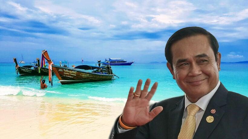 "PM Prayut eyes 1 million ""high-quality tourists"" in his Phuket transformation"