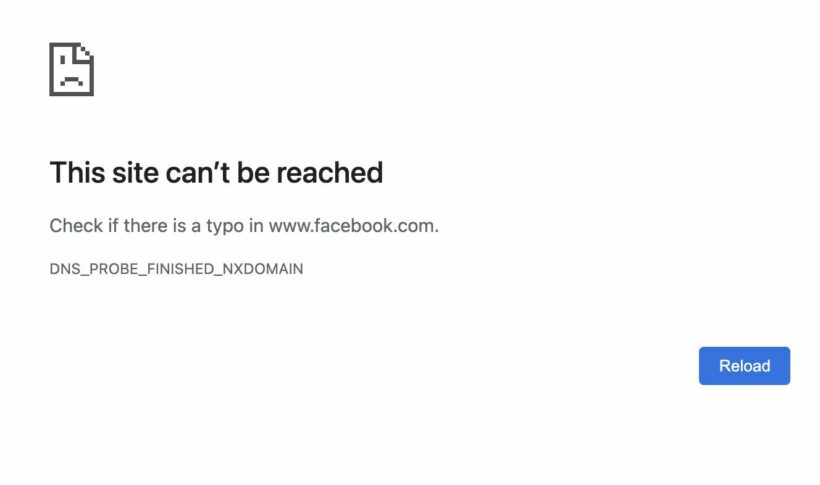 Facebook, WhatsApp, Instagram are down as the Facebook data centre crashes | News by Thaiger